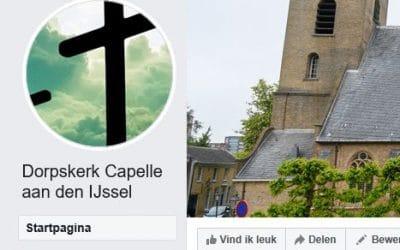 Nieuwe Facebook pagina Dorpskerk