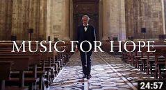 Music for Hope – Bocelli In lege Dom van Milaan
