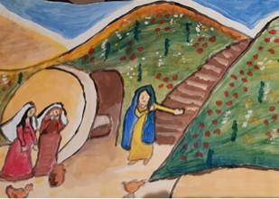 De paasbode 'Een spoor van Liefde'