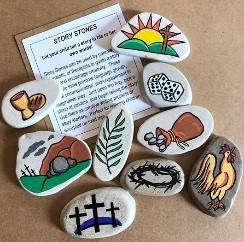 Online Workshop stenen beschilderen  op zondag 7 of 21 maart