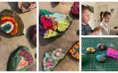 Terugblik 2e workshop stenen beschilderen