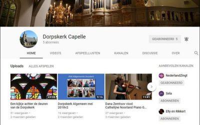 Dorpskerk op YouTube