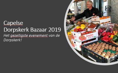 Dorpskerk Bazaar 2019: Opslagloods spullen