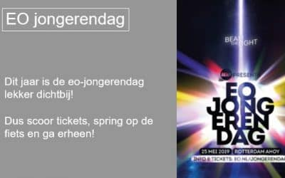 EO Jongerendag Rotterdam 25 mei