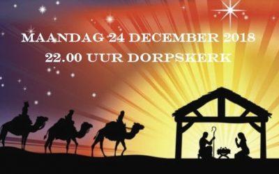 Kerstnachtdienst 24 december